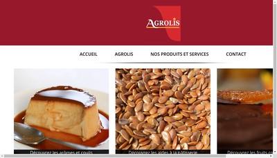 Site internet de Agrolis