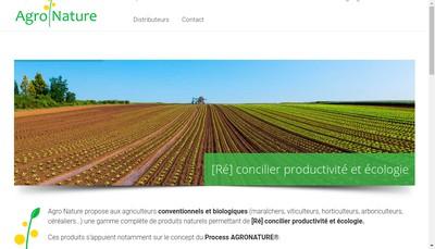 Site internet de Agro Nature Services