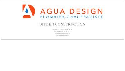 Site internet de Agua Design