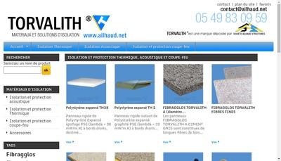 Site internet de Ailhaud Structures