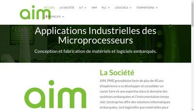 Site internet de Societe d'Applications Industrielles des Microprocesseurs