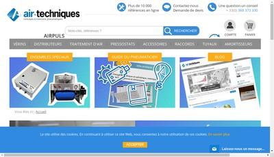 Site internet de Air-Techniques SARL