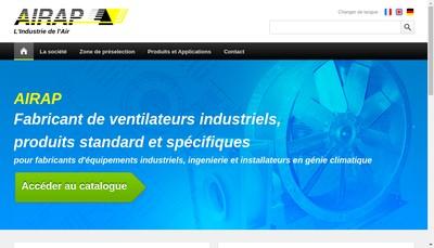Site internet de Airap