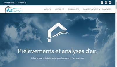 Site internet de Icf Labo