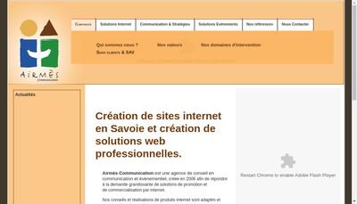 Site internet de Airmes