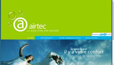 Site internet de Airtec