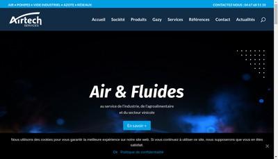 Site internet de Airtech