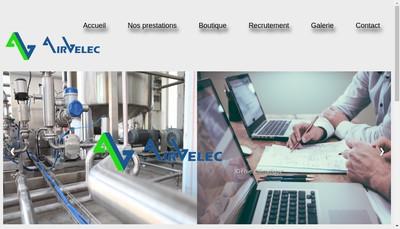 Site internet de Airvelec