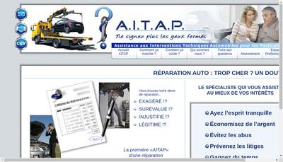 Site internet de AITAP Microflotte