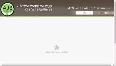 Site internet de Ajb Paysage