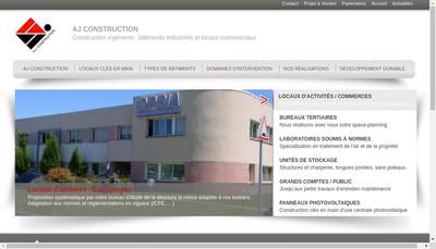 Site internet de Aj Construction