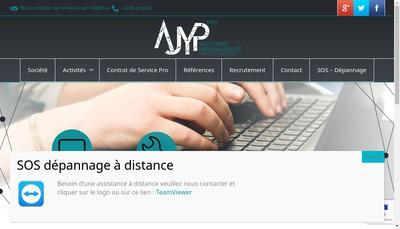 Site internet de Ajyp Informatique
