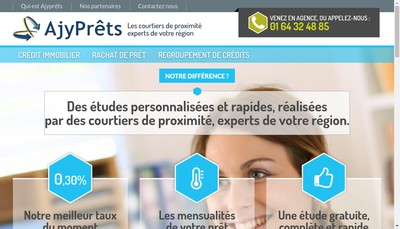 Site internet de Ajy Prets