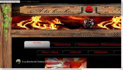 Site internet de A la Broche 66