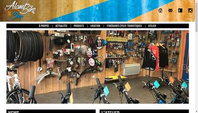 Site internet de Alambike Shop
