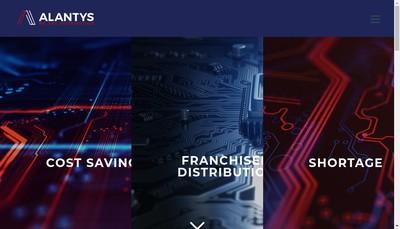 Site internet de Alantys Technology