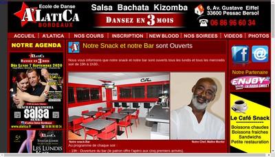 Site internet de A'Latica