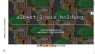 Site internet de Albert Louis Holding