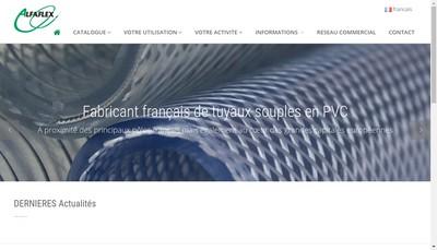 Site internet de Alfaflex