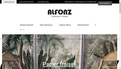 Site internet de Alfonz