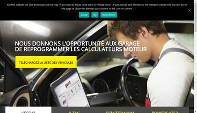 Site internet de Alientech France