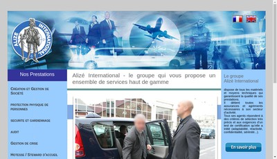Site internet de Alize International