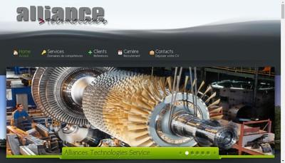 Site internet de Alliance Technologies