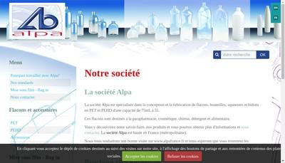 Site internet de Alpa