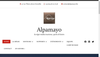 Site internet de Alpamayo