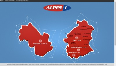Site internet de Alpes 1
