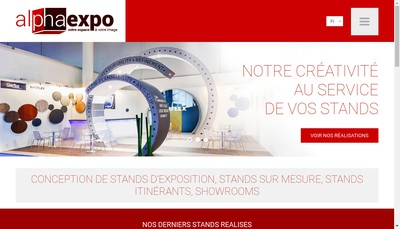 Site internet de Alpha Expo