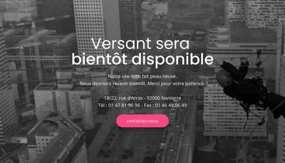 Site internet de Versant