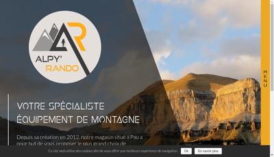 Site internet de Alpy' Rando
