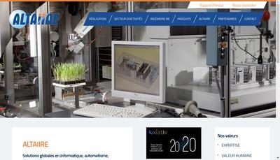 Site internet de Altaiire