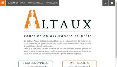 Site internet de Altaux