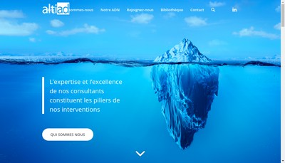Site internet de Groupe Altiad