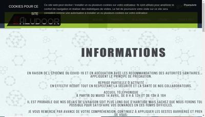 Site internet de Aludoor