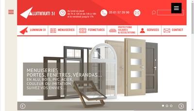 Site internet de Aluminium 31