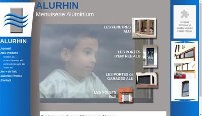 Site internet de Alurhin SARL