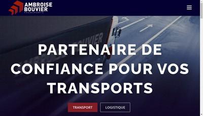 Site internet de Ambroise Bouvier Bretagne