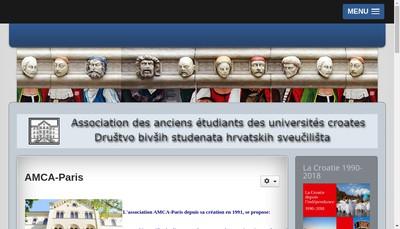Site internet de Amca