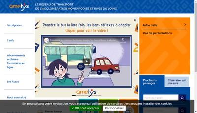 Site internet de Amelys