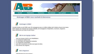 Site internet de Amenager et Batir