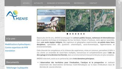 Site internet de Amenis
