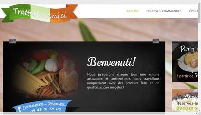Site internet de Amici