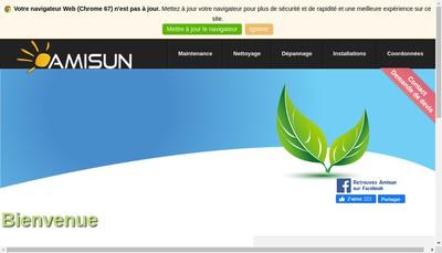 Site internet de Amisun
