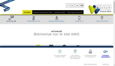 Site internet de Atelier Mecanique de l'Ouest Gourdel