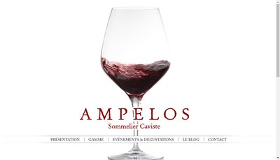 Site internet de Ampelos
