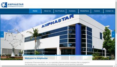 Site internet de Amphastar France Pharmaceuticals