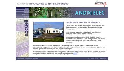 Site internet de And Elec